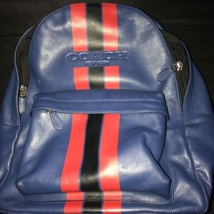 Men's AUTHENTIC Coach Charlie Backpack.
